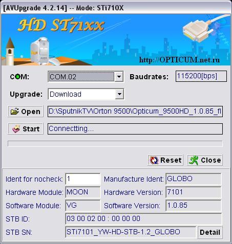 AVUpgrade STi710X